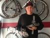 Herb custom cycling shoe